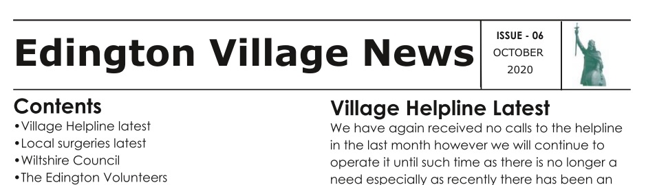 Extract from Newsletter